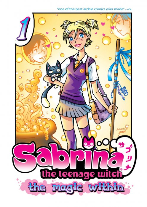 Sabrina the Teenage Witch - The Magic Within Vol.1-4 Complete