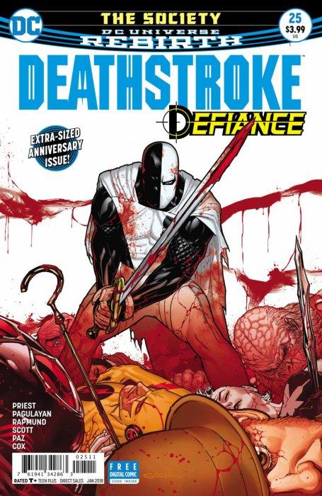 Deathstroke #25