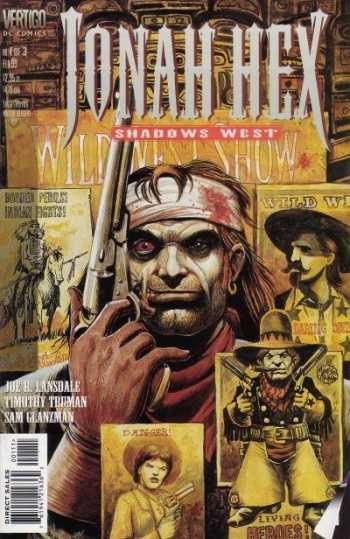 Jonah Hex Shadows Wes #1-3 Complete