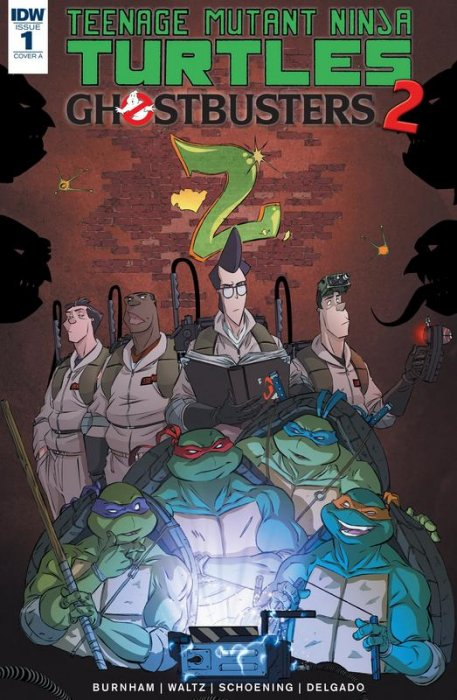 Teenage Mutant Ninja Turtles - Ghostbusters II #1