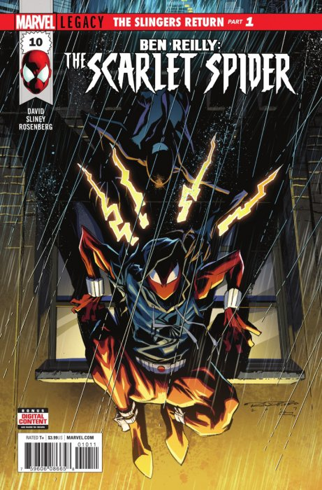 Ben Reilly - Scarlet Spider #10