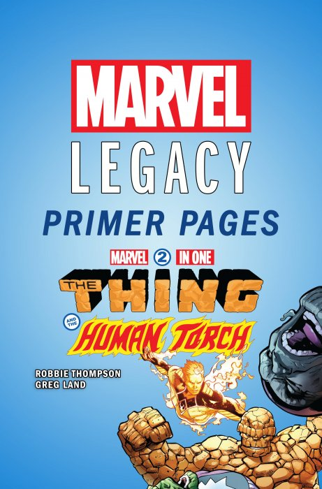 Marvel Two-In-One - Marvel Legacy Primer Pages #1