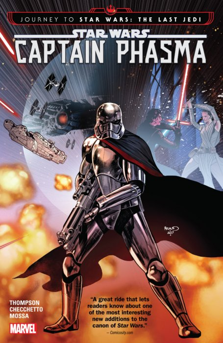 Star Wars - Journey to Star Wars - The Last Jedi - Captain Phasma #1 - TPB