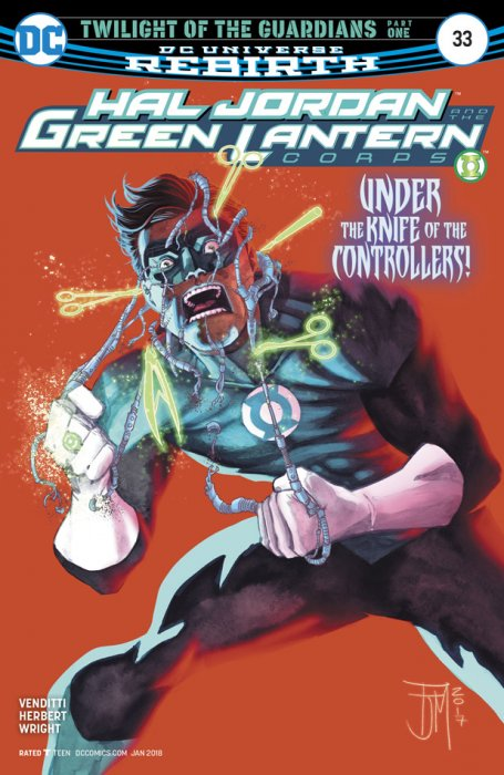 Hal Jordan and the Green Lantern Corps #33