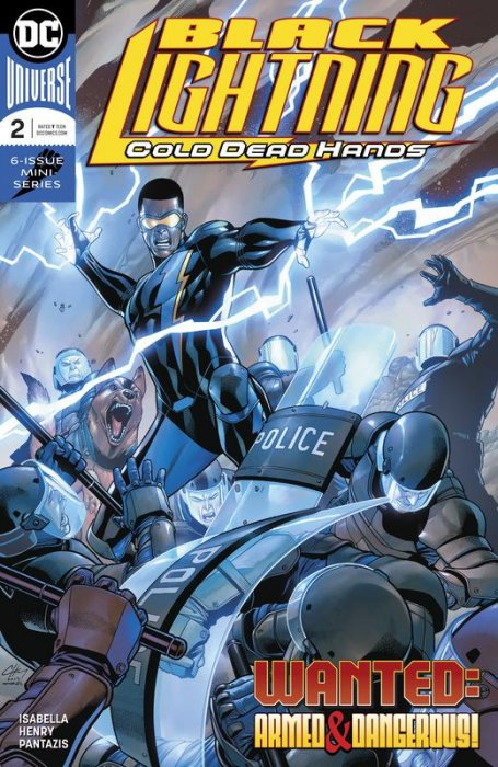 Black Lightning - Cold Dead Hands #2