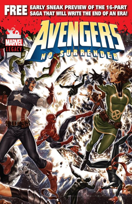 Avengers - No Surrender Free Preview #1