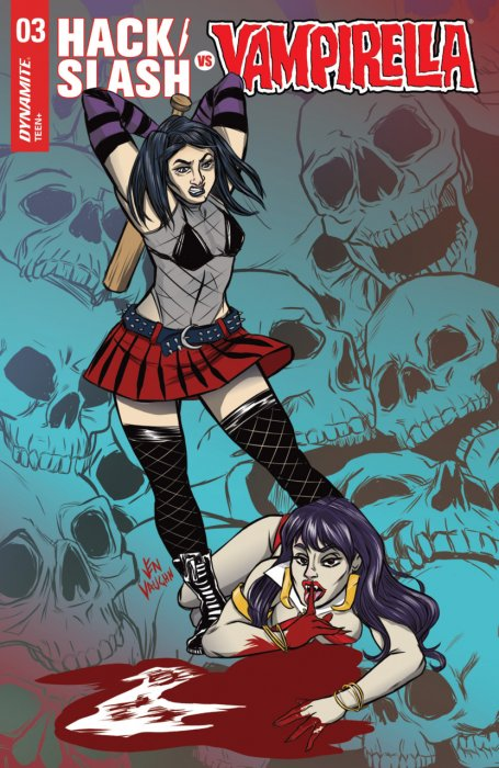 Hack-Slash vs Vampirella #3