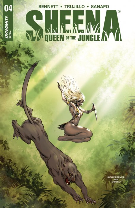 Sheena - Queen of the Jungle #4