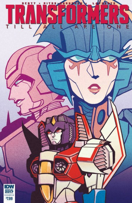 The Transformers - Till All Are One Annual #1