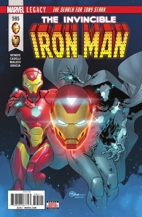 Invincible Iron Man #595