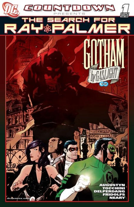 Countdown Presents the Search for Ray Palmer Gotham by Gaslight #1