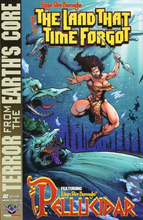 Edgar Rice Burroughs' The Land that Time Forgot, Pellucidar, Terror from the Earth's Core #2