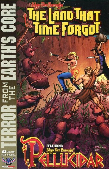 Edgar Rice Burroughs' The Land that Time Forgot, Pellucidar, Terror from the Earth's Core #3