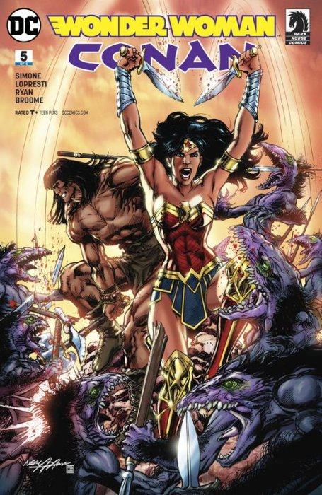 Wonder Woman - Conan #5