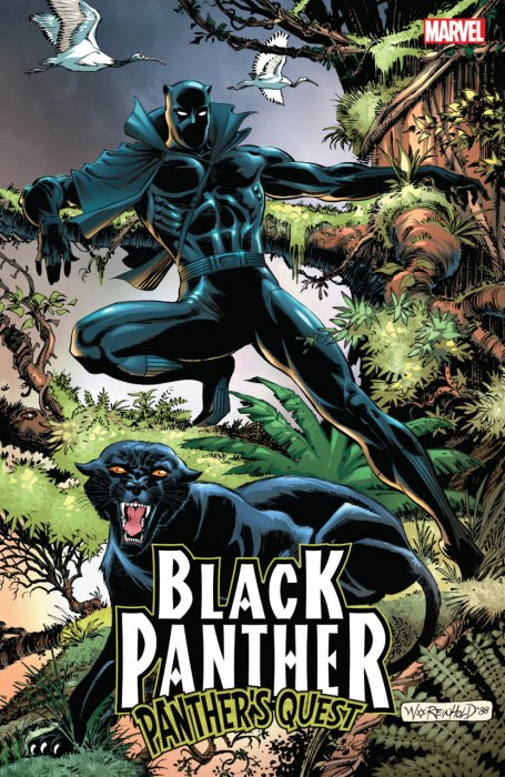 Black Panther Panther's Quest #1 - TPB
