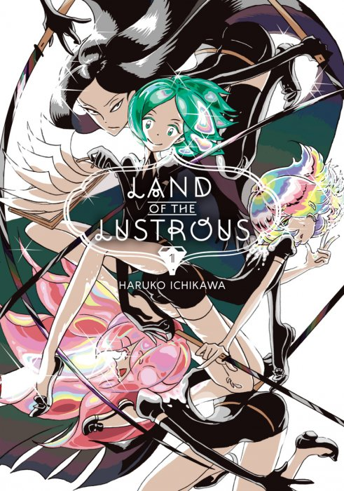 Land of the Lustrous Vol.1-4 Complete