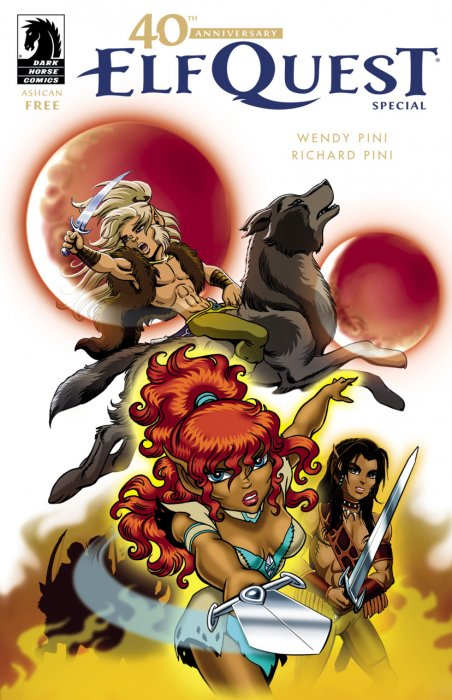 The 40th Anniversary ElfQuest Special, Ashcan #1