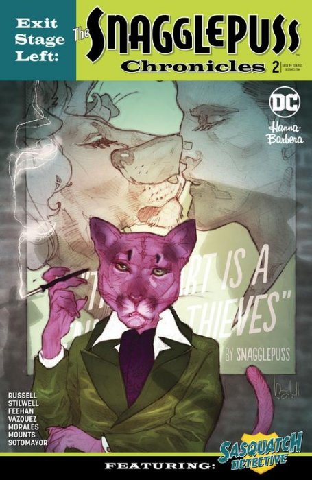 Exit Stage Left - The Snagglepuss Chronicles #2