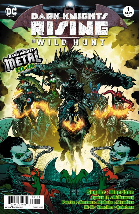 Dark Knights Rising - The Wild Hunt #1