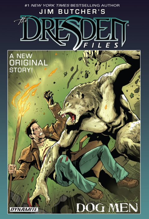 Jim Butchers The Dresden Files - Dog Men #1 - HC