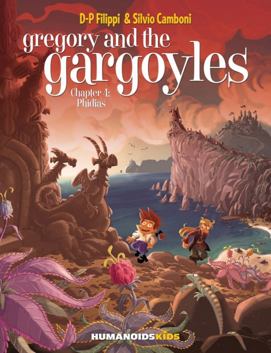 Gregory and the Gargoyles #4 - Phidias