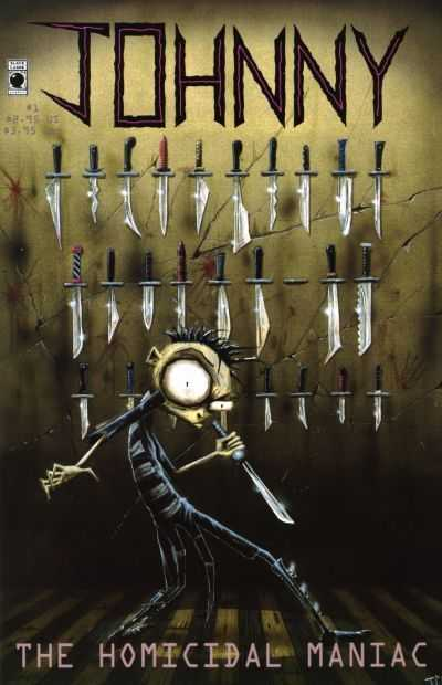 Johnny the Homicidal Maniac #1-7 Complete