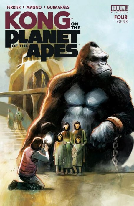 Kong on the Planet of the Apes #4