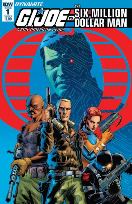 G.I. Joe - A Real American Hero vs. the Six Million Dollar Man #1