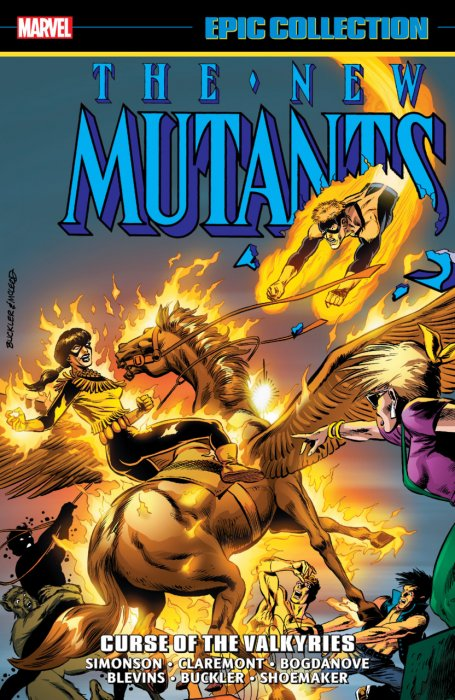 New Mutants Epic Collection - Curse Of The Valkyries #1 - TPB