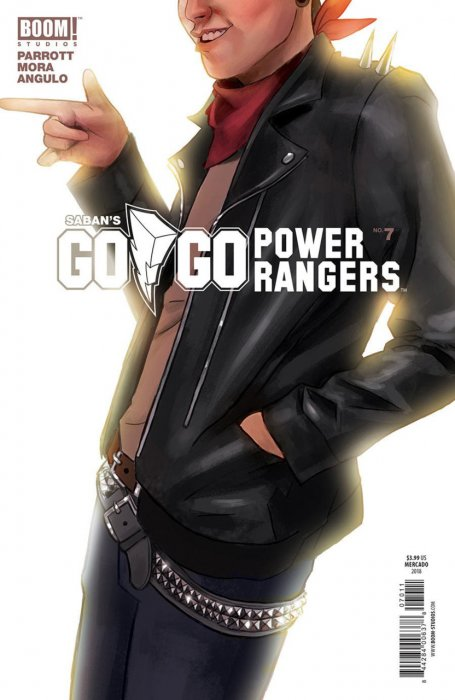 Saban's Go Go Power Rangers #7