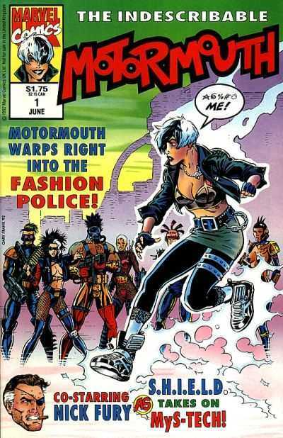 Motormouth & Killpower #01-12 (UK) Complete (include Indescribable Motormouth #1-3)