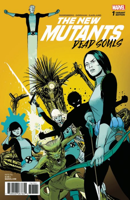 New Mutants - Dead Souls #1