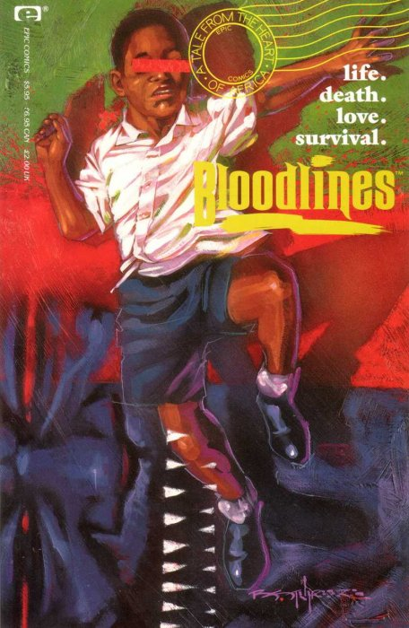 Bloodlines - A Tale From The Heart Of Africa #1 (Epic)