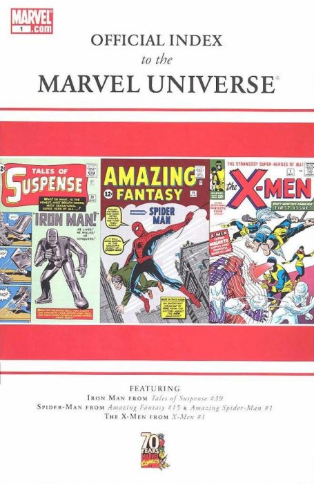 Official Index to the Marvel Universe #01-14 Complete