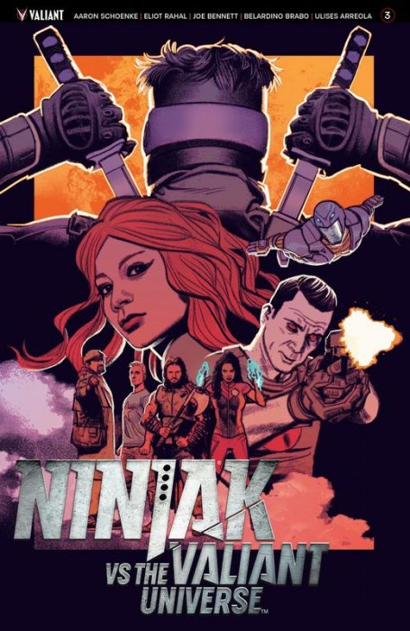 Ninjak vs. the Valiant Universe #3