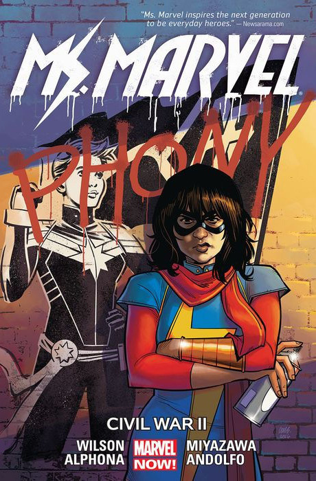 Ms. Marvel Vol.6 - Civil War II