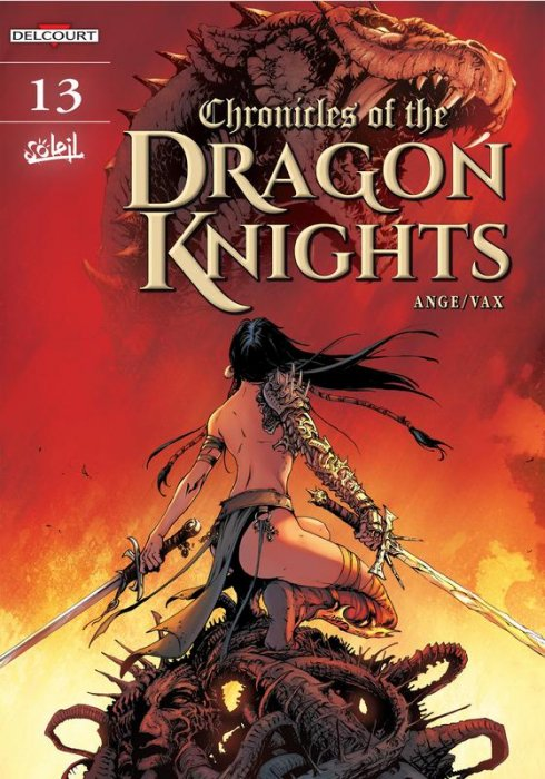Chronicles Of The Dragon Knights Vol..13-16 Complete
