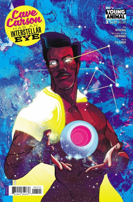 Cave Carson Has an Intersteller Eye #1