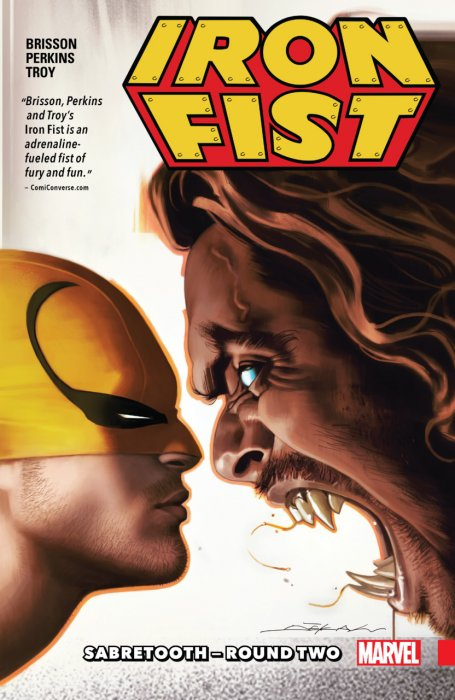 Iron Fist Vol.2 - Sabretooth - Round Two