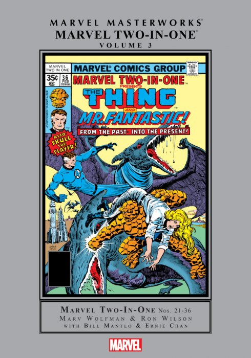Marvel Masterworks - Marvel Two-In-One Vol.3