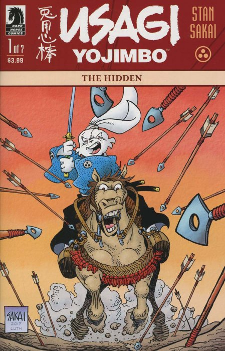 Usagi Yojimbo - The Hidden #1