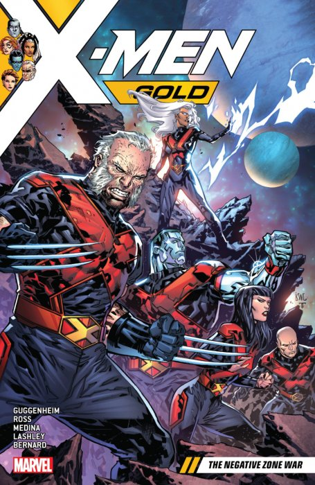 X-Men Gold Vol.4 - The Negative Zone War