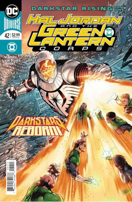 Hal Jordan and the Green Lantern Corps #42
