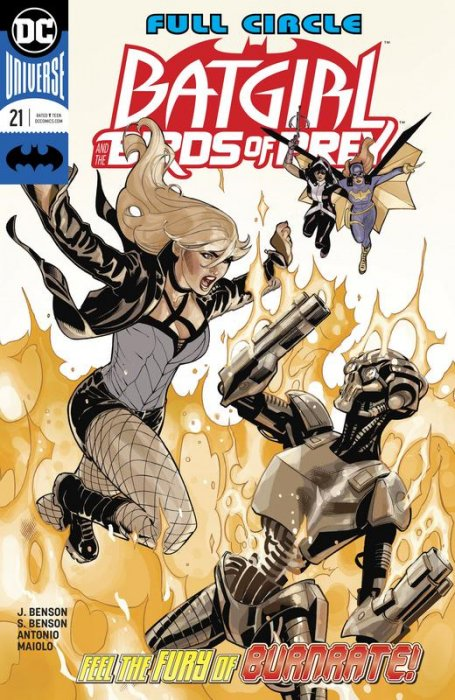 Batgirl and the Birds of Prey #21