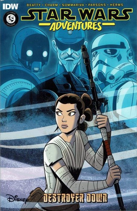 Star Wars Adventures - Destroyer Down #1