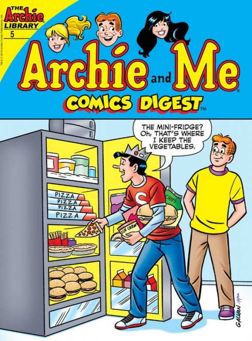 Archie and Me Comics Digest #5