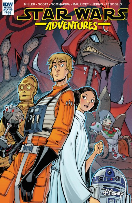 Star Wars Adventures - Annual 2018 #1