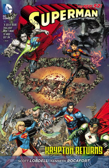 Superman - Krypton Returns #1 - HC