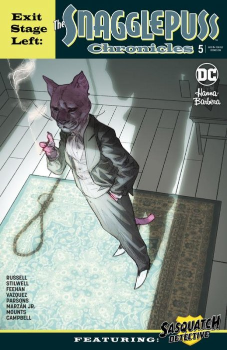 Exit Stage Left - The Snagglepuss Chronicles #5