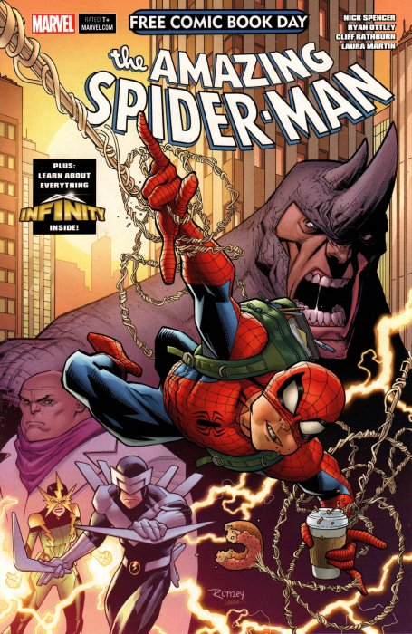 FCBD2018 - Amazing Spider Man - Guardians of the Galaxy